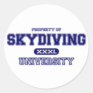 Skydiving大学 ラウンドシール