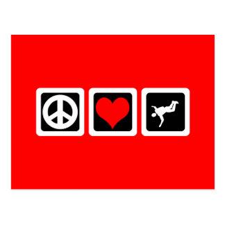 skydiving平和愛 ポストカード
