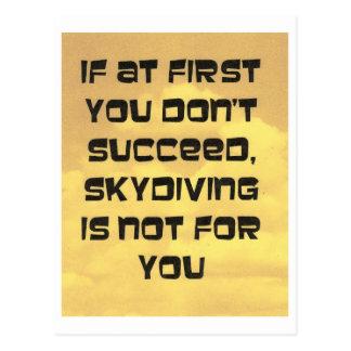 skydiving発言 ポストカード