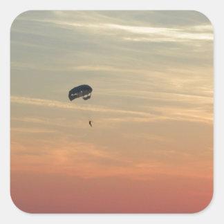 Skydiving スクエアシール