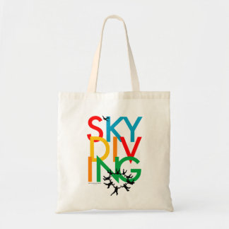 Skydiving トートバッグ