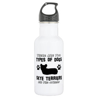 skyeテリア犬のデザイン ウォーターボトル