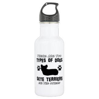 Skyeテリア犬の品種デザイン ウォーターボトル