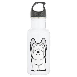 Skyeテリア犬の漫画 ウォーターボトル