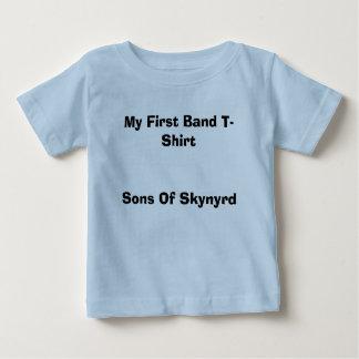 Skynyrdの私の最初バンドT-ShirtSons ベビーTシャツ