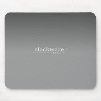SlackwareのLinuxの灰色 マウスパッド