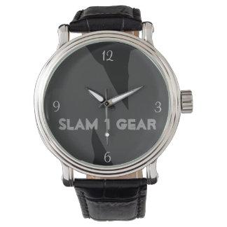 SLAM 1のギアの腕時計 腕時計