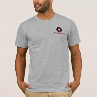 SLAMAのTシャツ-ヒースの灰色 Tシャツ