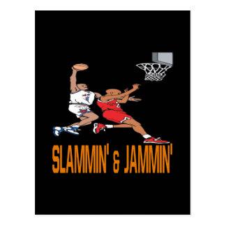 SlamminおよびJammin ポストカード