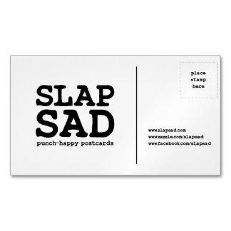 SlapSadの磁気名刺 マグネット名刺
