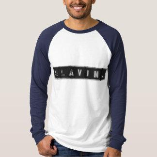 SlavinのステンシルTシャツ Tシャツ