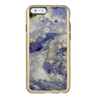 sleddingのための氷のトラック incipio feather shine iPhone 6ケース