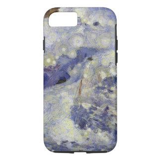 sleddingのための氷のトラック iPhone 8/7ケース