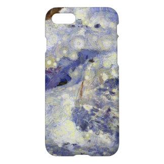 sleddingのための氷のトラック iPhone 8/7 ケース