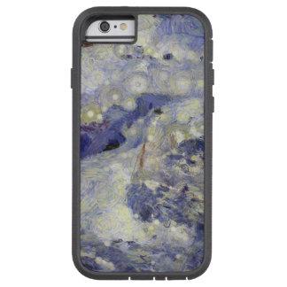sleddingのための氷のトラック tough xtreme iPhone 6 ケース