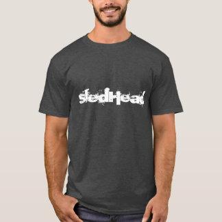 """""""SledHead""""の木炭Sledders.comのTシャツ Tシャツ"""
