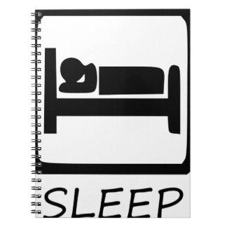 SLEEP3を食べて下さい ノートブック