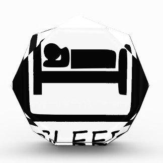 SLEEP3を食べて下さい 表彰盾