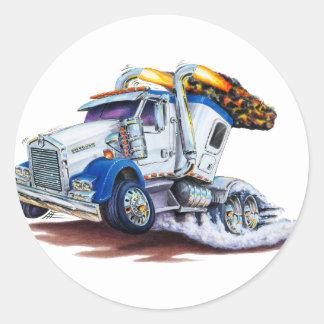 Sleepercabの半トラック ラウンドシール