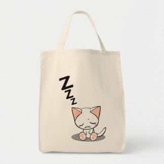Sleeping cat トートバッグ