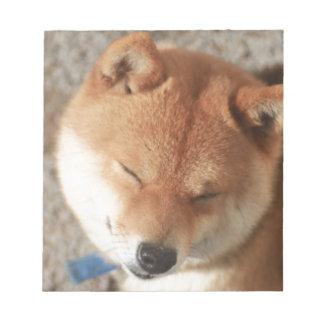 SLEEPY SHIBA ノートパッド