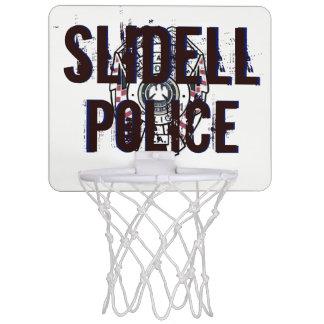 Slidellの警察のバスケットボールの小型たが ミニバスケットボールゴール