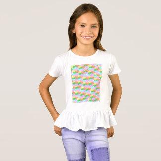 Slipperywindow著イースターのウサギパターン Tシャツ