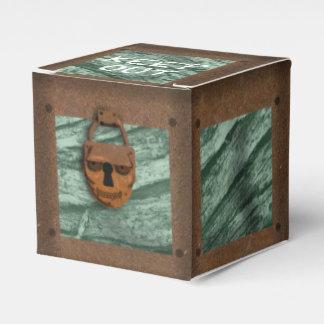 Slipperywindow著スカルの海賊宝物箱 フェイバーボックス