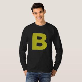 Slipperywindow著レトロのおもしろいのモノグラム Tシャツ