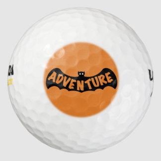 Slipperywindow著冒険のこうもりアイコン ゴルフボール