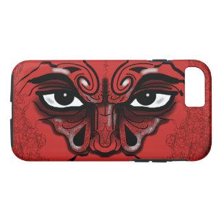 Slipperywindow著戦士のマスク iPhone 8/7ケース