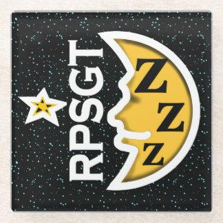 SlipperyWindow著RPSGT POLYSOMNOGRAPHYのコースター ガラスコースター