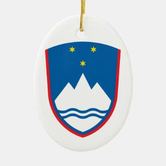 Slovenijaスロベニア セラミックオーナメント