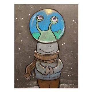 sluggoのアンチ雪の地球 ポストカード
