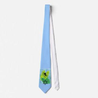 Smの淡いブルーのタイ3 Jw ネクタイ
