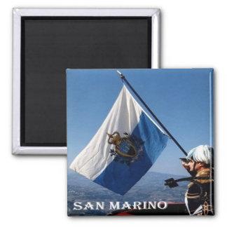 SM -サンマリノ-旗サンMarinese マグネット