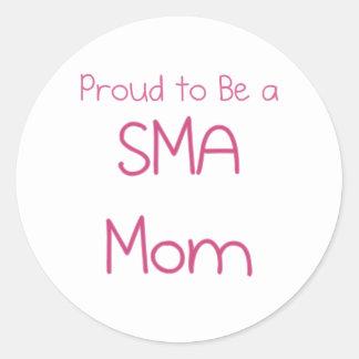 SMAのお母さんかお母さん ラウンドシール