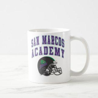 SMAはフットボールのマグ-白--に耐えます コーヒーマグカップ