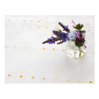 Small flowers of spring ポストカード