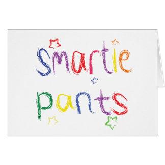 Smartieによってはおもしろいのお祝いが喘ぎます グリーティングカード