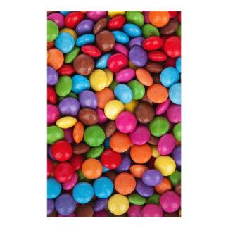 Smartiesの多彩の菓子 便箋