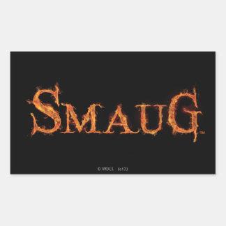 SMAUG™の一流のグラフィック 長方形シール