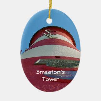 Smeatonのタワーの灯台、プリマスのくわ セラミックオーナメント