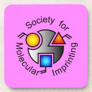 SMIのロゴのコースターのピンク コースター