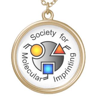 SMIのロゴのネックレスの金ゴールド ゴールドプレートネックレス