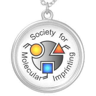SMIのロゴのネックレス シルバープレートネックレス