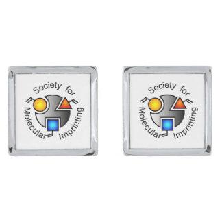 SMIのロゴの正方形のカフスボタン シルバー カフスボタン