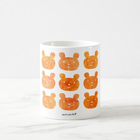 smile bear orange コーヒーマグカップ