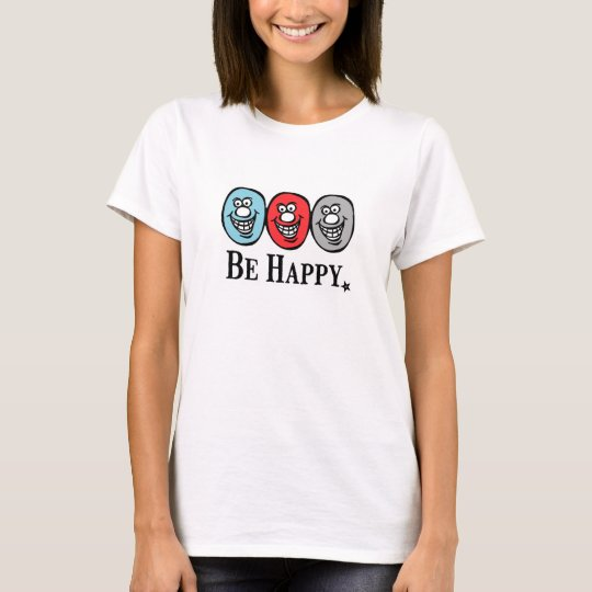 Smiley Face (Be Happy) Tシャツ