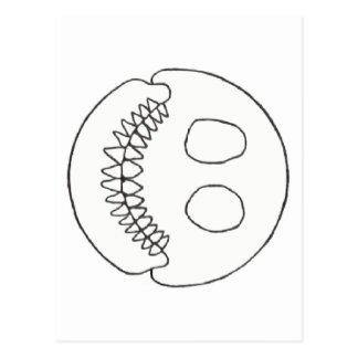 SmileySkull ポストカード